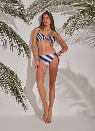 Morhipo Beach Straplez Bikini Lacivert